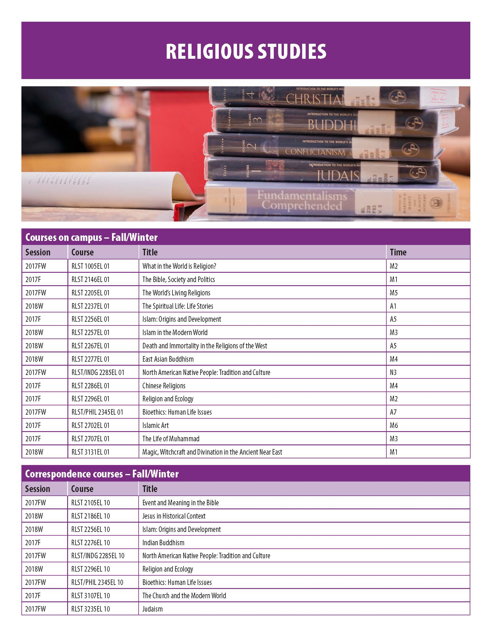 US CourseTimetable September 2017 Page 09