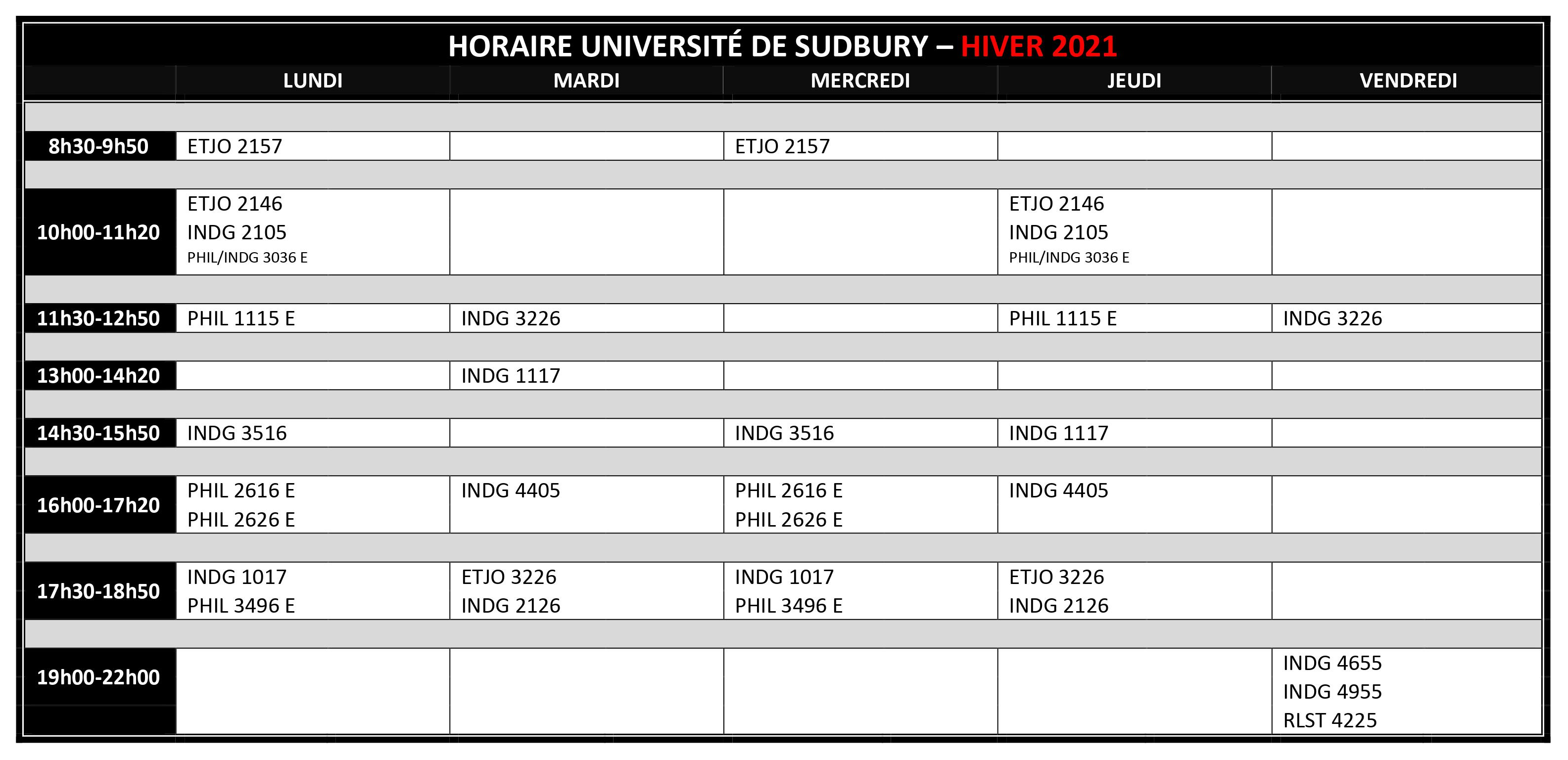 2020 2021 HIVER HORAIRE FR