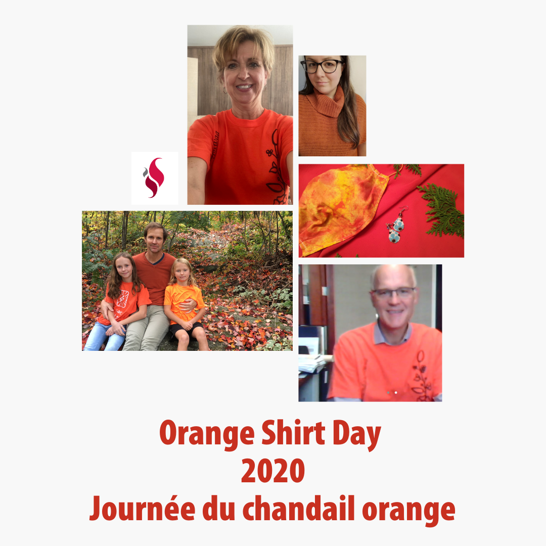 Orange Shirt Day 2020 submissions collage