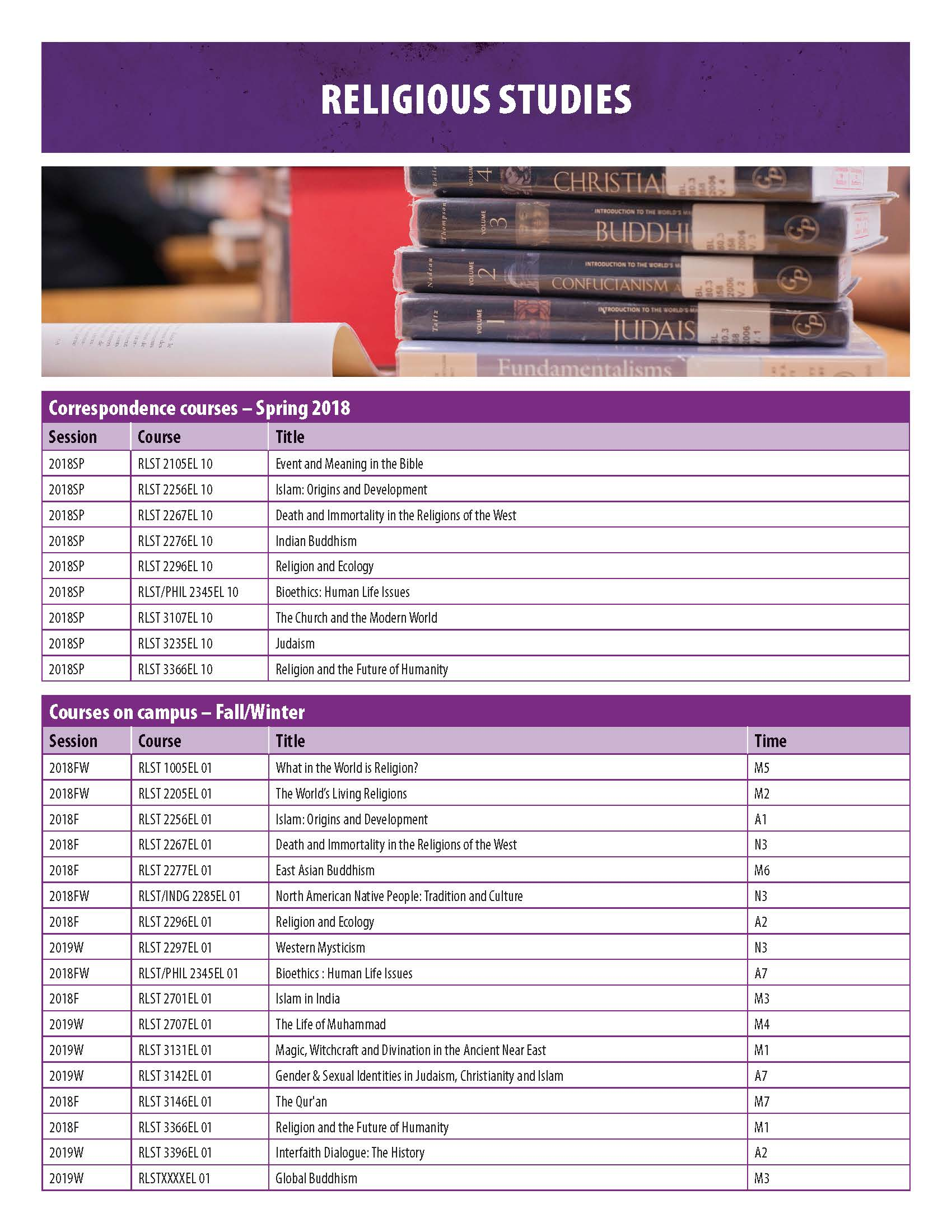 US CourseTimetable 2018 Page 09